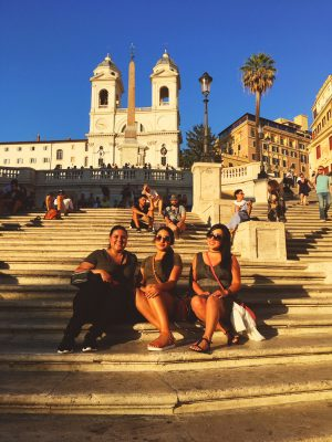 Glam Italia Tour Spanish Steps