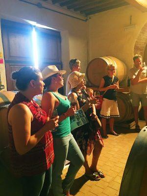 Glam Italia Tour Wine Tasting