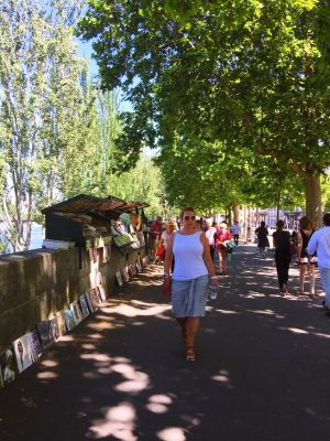 Paris book stalls along Seine