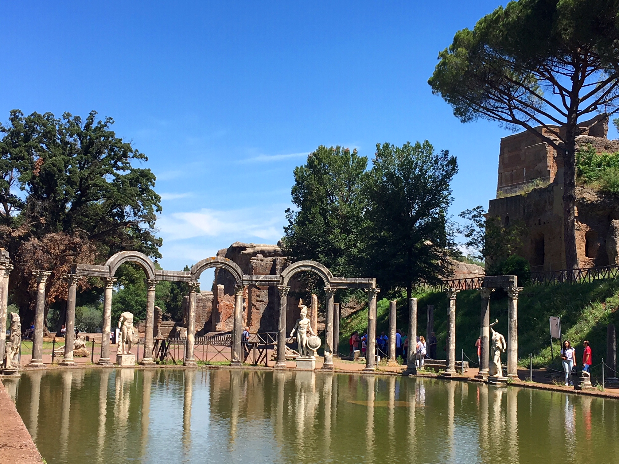 The best day trips from Rome. Why you should visit Hadrian's Villa in Tivoli and 9 other fabulous day trips from Rome by train