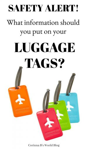 What information should you put on your luggage tag? How much information should you put on your luggage tag? What safety issues should you be aware of with your luggage tag? Read on to find out!