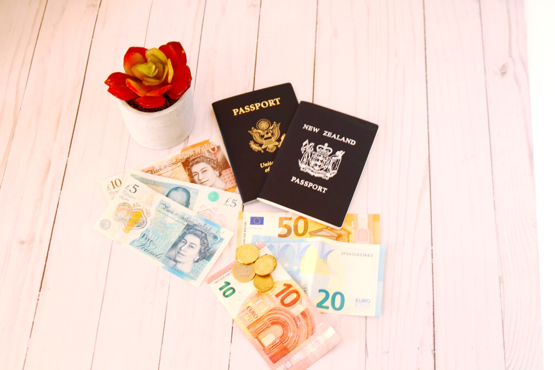 How to manage your money while traveling overseas. Tips on working with foreign currencies, how to manage cash, debit cards and credit cards when traveling internationally. How to avoid pickpockets