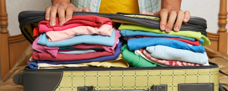how to pack a suitcase like a pro. Best travel tips for planning and packing a suitcase