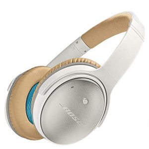 Noise cancelling headphones are essential for air travel. Block out everything from screaming babies to loud talkers with these Bose headphones