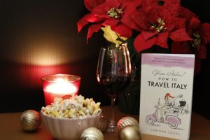 Channel your inner Olivia Pope with a glass of red wine and some popcorn, and a really good book!