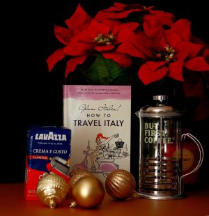 Wonderful gift ideas for anyone who loves Italy or who wants to travel to Italy. Especially great for coffee lovers!