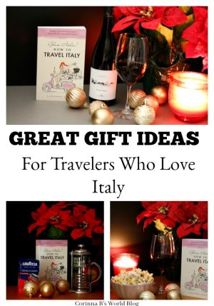 Great gift ideas for anyone who loves Italy, plans to travel to Italy, or just dreams about Italy. Perfect for Cyber Monday shopping or anytime you are buying gifts that you want to be treasured and remembered.