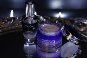Best skin care products; Lancome skin care Advanced Genifique and Renergie Lift Multi Action Day Cream