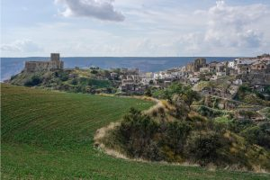 The village of Grotole in Basilicata, Italy. Win the opportunity to live here for 3 months for free