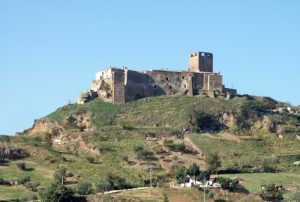 Grottole Basilicata castle on the hill.