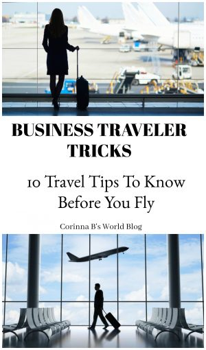 10 fabulous tricks for airline travel. How to make airline travel easy using tricks business travelers swear by