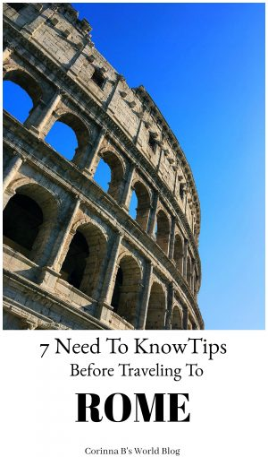 Essential travel tips for Rome, Tips for traveling to Rome, Best tips for travelers to Rome, Rome travel tips