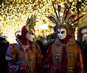 costumes at Venice's Carnival