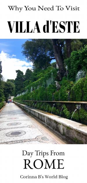 Why you should visit Villa d'Este in Tivoli, outside Rome