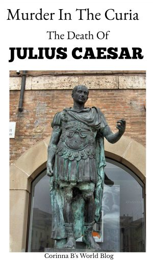 details about the death of Julius Caesar and the Ides of March