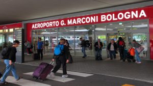 Bologna Marconi airport Italy