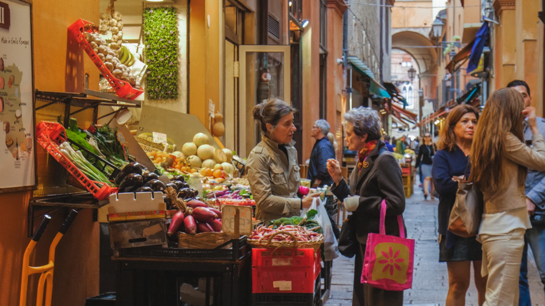 bologna food streets