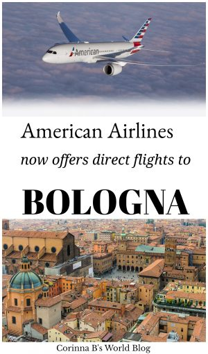 american airlines now offers direct flights from USA to Bologna!