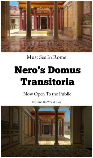 Domus Transitoria Now Open to the public in Rome!