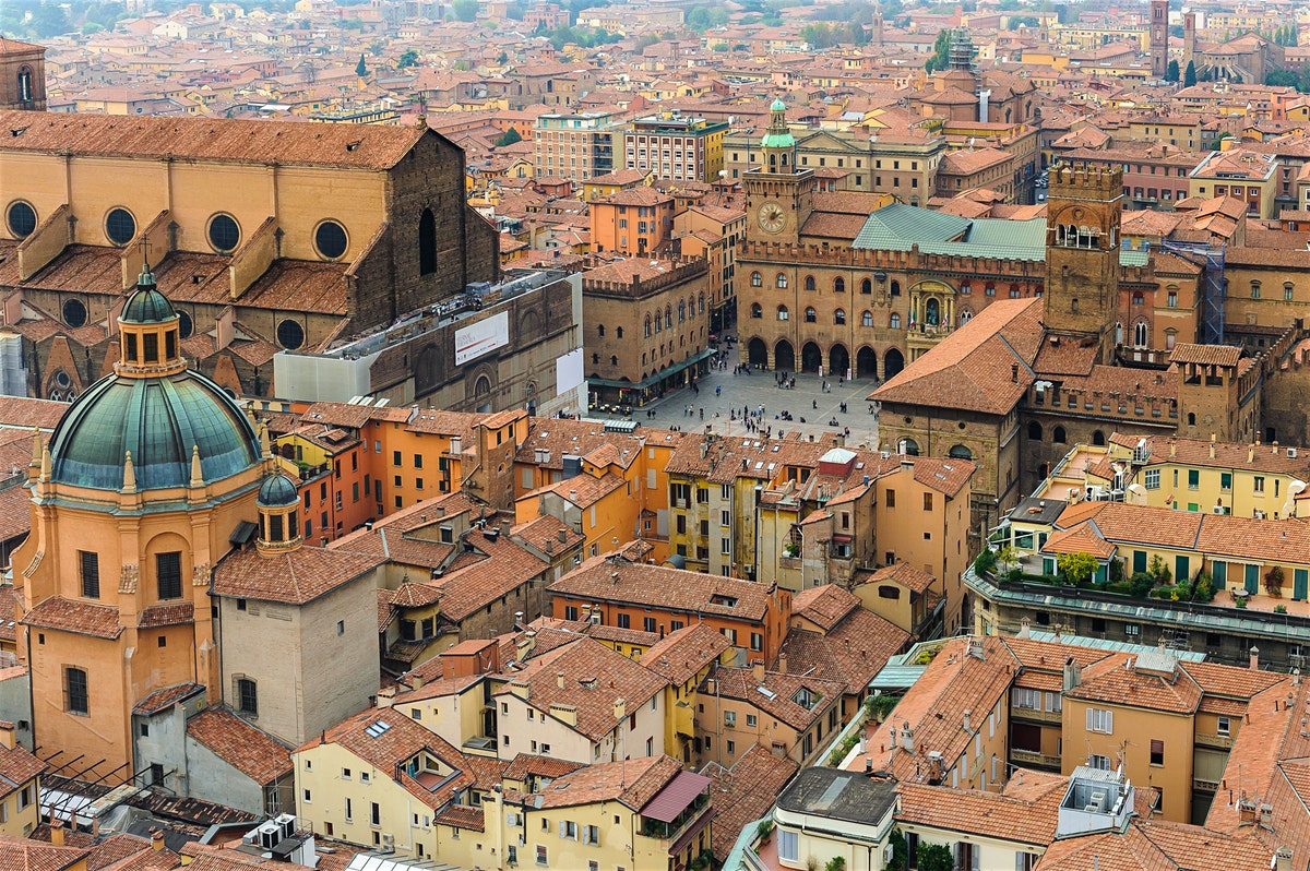 central historical bologna
