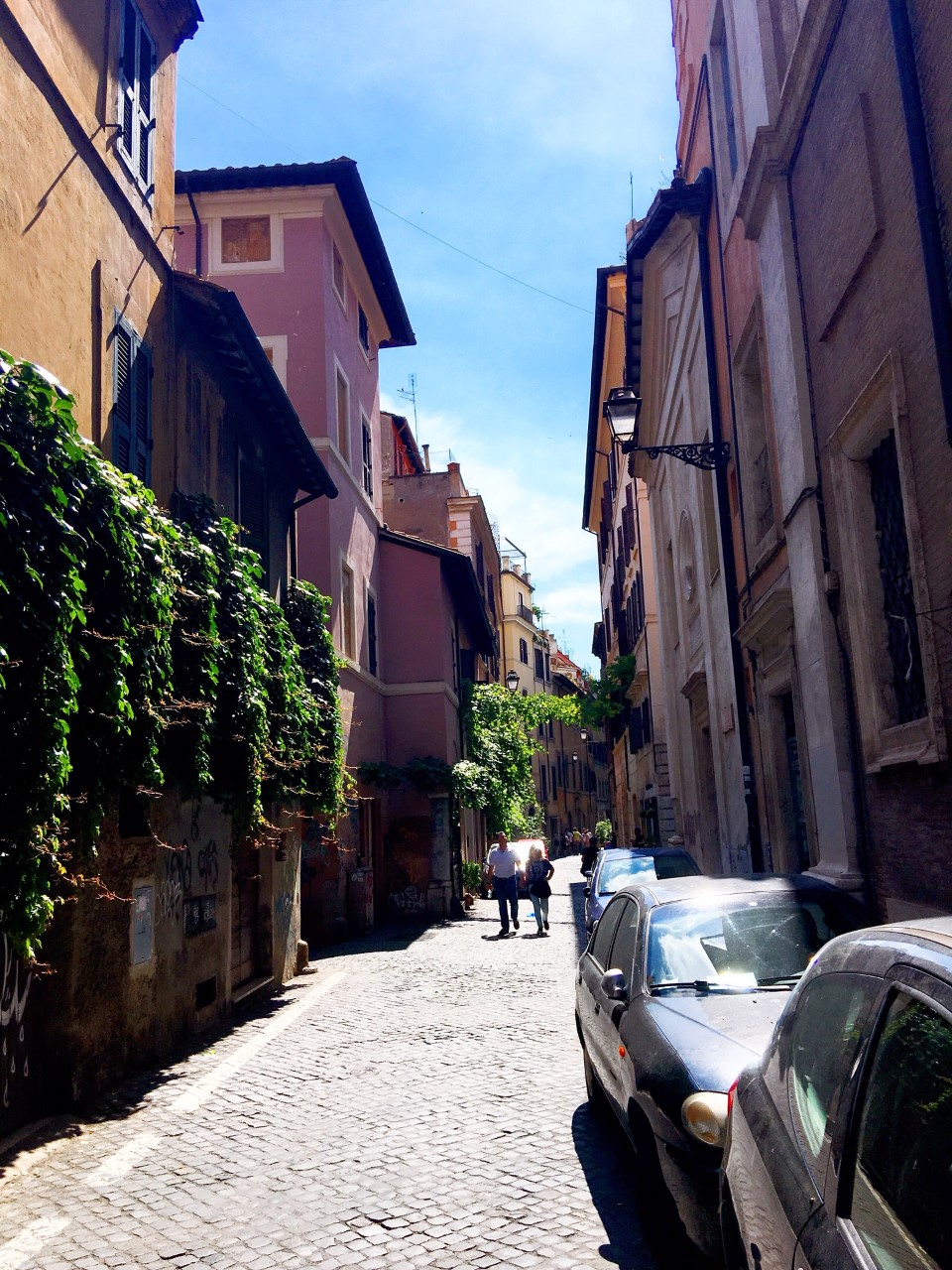 the Monti district or Rione Monti in Rome is full of pretty little streets and incredible eateries. It is also home to the fabulous Monti Market