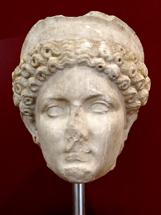 bust of Claudia octavia first wife of nero