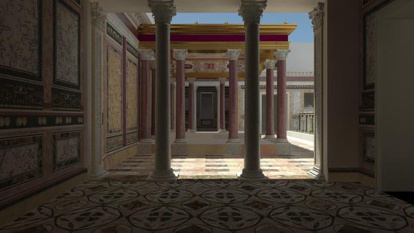 Nero's Domus Transitoria
