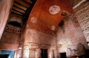 Ceilings at Domus Transitoria