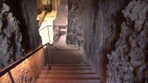 Stairway down to nero's Domus Transitoria