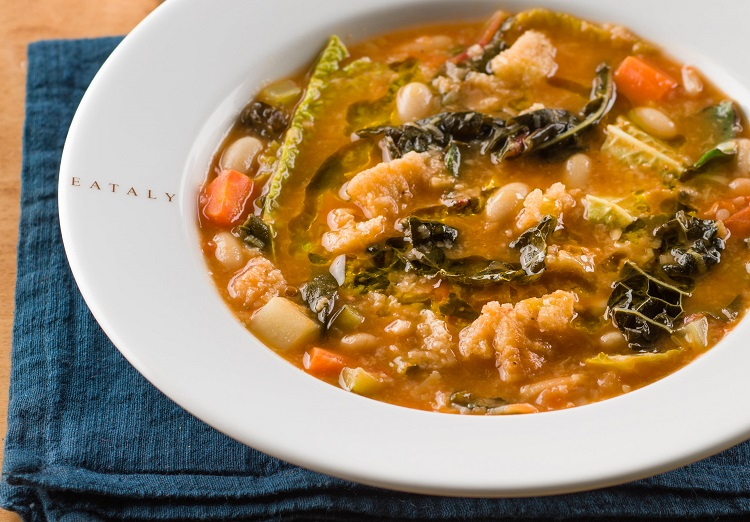 ribollita soup at eataly