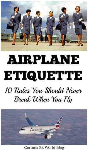10 rules for good airplane etiquette