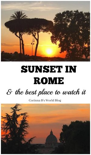 sunsets in Rome and where to watch them