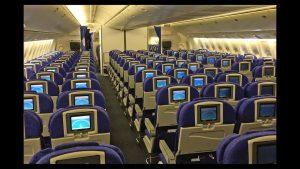 economy cabin boeing 777