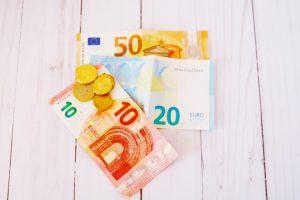 euros paper money