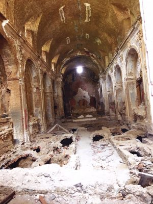 Interior of Convento San Francesco in Tursi, Basilicata