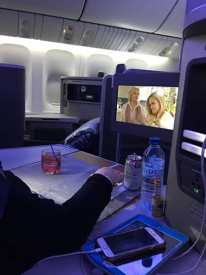 Business class American Airlines Barcelona to JFK