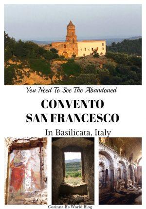 The Abandoned Covento San Francesco In Tursi, Basilicata