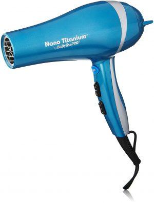 Babyliss Pro Nano Titanium Travel hairdryer, the best travel hair dryr available