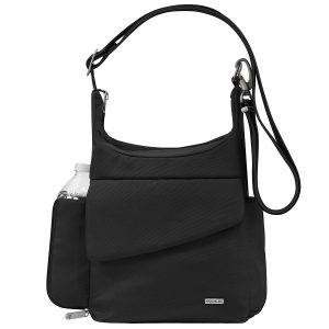 Travelon anti theft cross body messenger bag