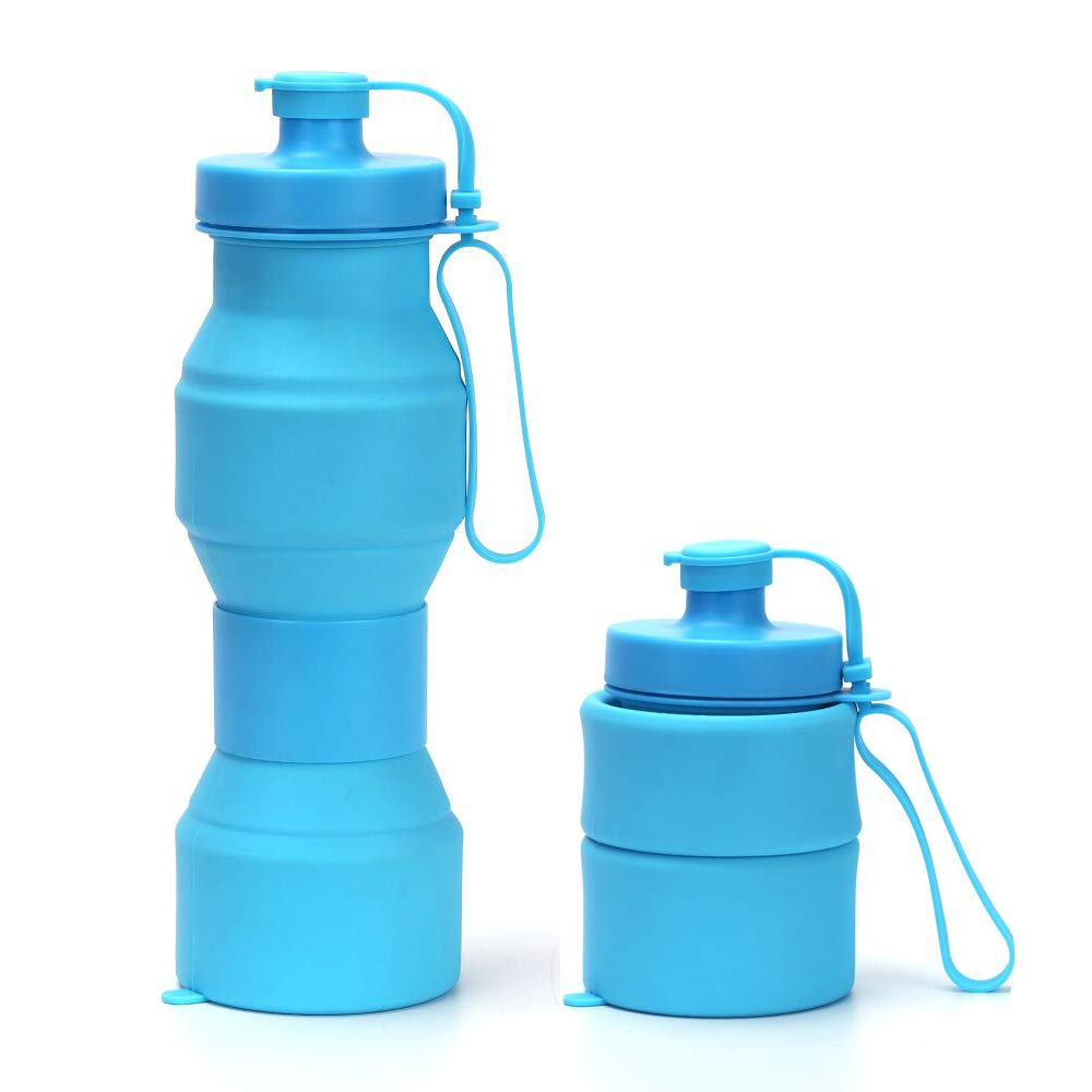 collapseabe reuseable water bottle for travel