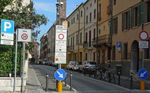 zona traffico limitato in Italy ZTL