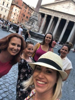 Glam Italia Tour in Rome at the Pantheon in Piazza della Rotonda