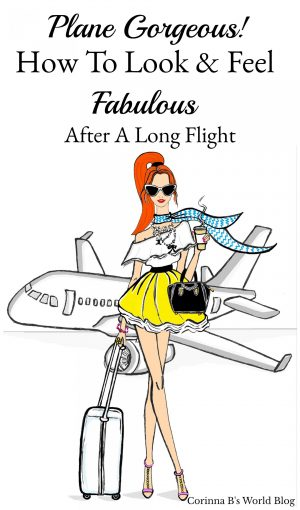 How to look fabulous after a long flight