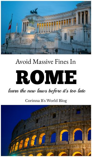 New laws in Rome are costing tourists hundreds of euros in fines