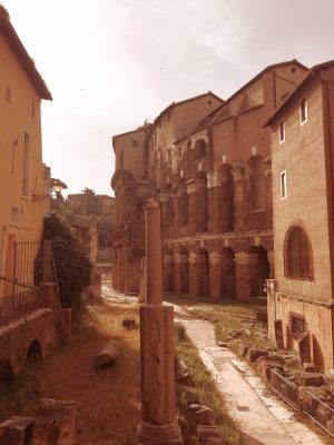 The Teatro marcello in Rome dates back to before Christ