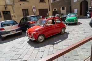 Fiat driving tour in Florence