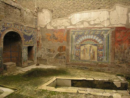 herculaneum frescoes