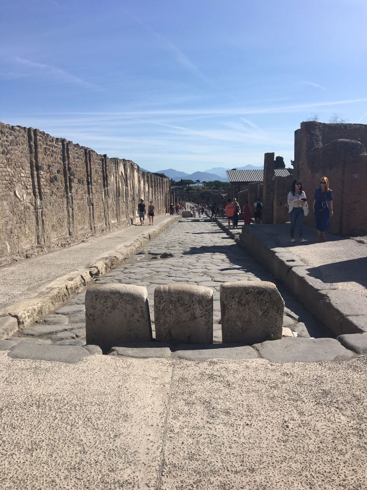 Pompeii streets