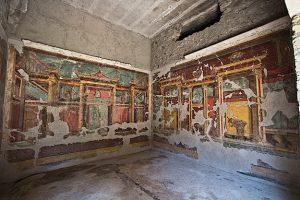 villa poppea frescoes