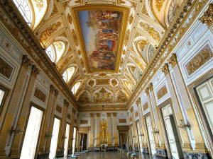 throne room at Caserta
